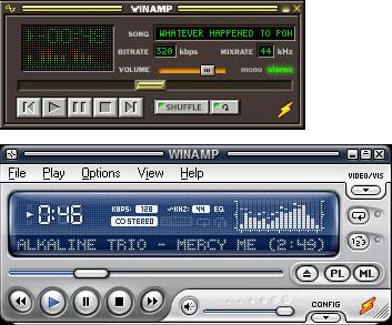 Blasius Info - IT Szótár/MP3/A Winamp klasszikus és modern skinjei. - html - weboldal - weblap - banner - Wifi - szerkesztés - készítés - honlap - pendrive - oldalak
