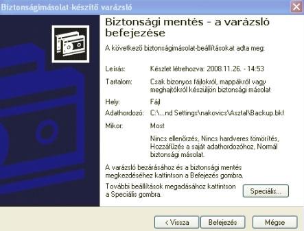 Blasius Info - IT Szótár/XP/Időzített biztonsági mentés a Windows XP-ben. - weblap - banner - html - pendrive - készítés - Wifi - weboldal - oldalak - szerkesztés - honlap