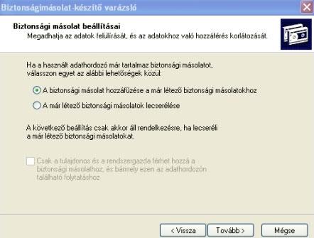 Blasius Info - IT Szótár/XP/Időzített biztonsági mentés a Windows XP-ben. - weboldal - készítés - pendrive - oldalak - html - Wifi - banner - honlap - szerkesztés - weblap